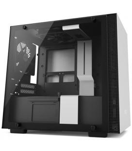 NZXT CAJA MINI ITX H200. PANEL CRISTAL TEMPLADO. BLANCO MATE (CA-H200B-W1)
