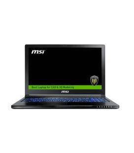 """MSI WE63-670XES i7-7700 16GB 512+1TB P3000 DOS 15"""" - Imagen 1"""