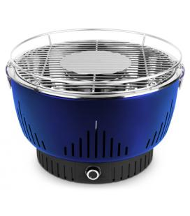 MEDION MD 17700 Parrilla Mesa Carbón vegetal Negro, Azul