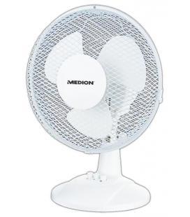 MEDION MD 18166 Ventilador con aspas para el hogar 30W Blanco