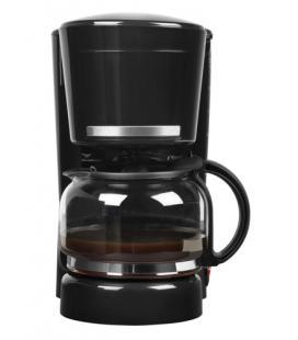 MEDION MD 17229 Independiente Cafetera de filtro 1.25L 10tazas Negro, Acero inoxidable