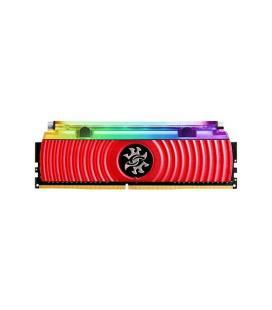 MEMORIA ADATA DIMM DDR4 8GB 3200MHZ CL16 XPG SPECTRIX D80 LED-RGB REFRIGERACION LIQUIDA RED