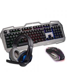 NGS Pack Gaming GBX-1500 Teclado + Ratón + Auricul