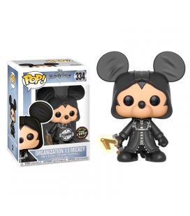 Figura POP Kingdom Hearts Organization 13 Mickey Exclusive Chase - Imagen 1