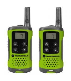 MOTOROLA T41 Walkie Talkie 4Km 8CH Verde - Imagen 1