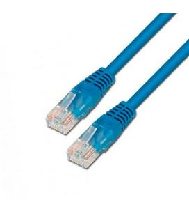 CABLE RED UTP CAT6 RJ45 AISENS 0,5M AZUL