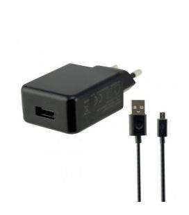 CARGADOR MOVIL KSIX 1XUSB 2.4A   1 CABLE MICRO USB