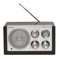 RADIO PORTATIL DENVER TR-61 BLACK - Imagen 1