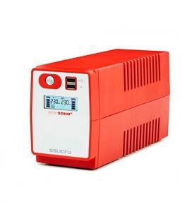 SAI SALICRU SPS SOHO+ 850VA TECH LINE REGULACION AUTO AVR INTERACTIVE CONEXION USB (SPS.850.SOHO+)