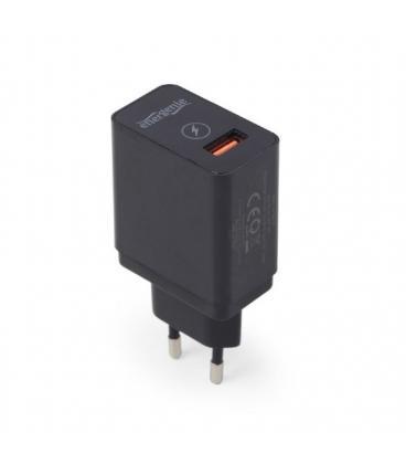 Gembird EG-UQC3-01 Interior Negro cargador de dispositivo móvil - Imagen 1