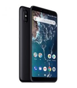 "Telefono movil smartphone xiaomi mi a2 black 6.99""/ 32gb ram/ 4gb rom/ dual camera 12+20 mpx/ camara delantera 20 mpx/ 18:9 / hu"