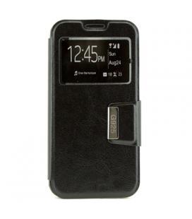 X-One Funda Libro Samsung S6 Edge Negro