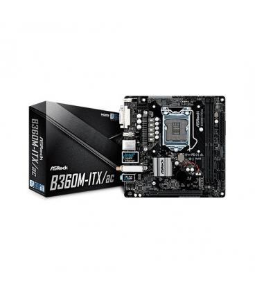 PLACA BASE ASROCK 1151-8G B360M-ITX/AC - Imagen 1
