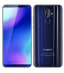 """Telefono movil smartphone cubot x18 plus azul / 5.99"""" / 64 gb rom / 4gb ram/ 20+2 mpx/ 13mpx/ octa core/ dual sim/ 4g / huella"""