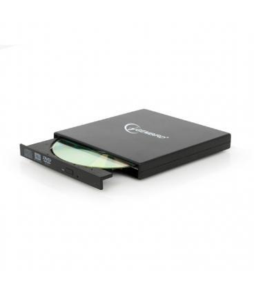 Gembird DVD-USB-02 DVD±RW Negro unidad de disco óptico - Imagen 1