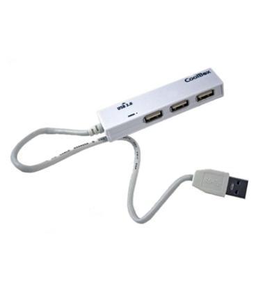 CoolBox HUB USB (1 x USB3.0 + 3 x USB2.0) - Imagen 1