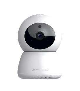 Camara vigilancia wifi 1080p / microfono y altavoz / detección de movimiento / vision nocturna y diurna / app / hasta 128gb alma