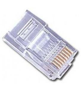 Gembird PLUG3UP6/50 RJ-45 Transparente conector
