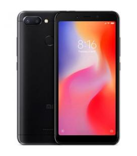 "Telefono movil smartphone xiaomi redmi 6 black 5.45"" 18:9 / 32gb"