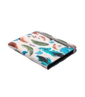 "Funda universal silver ht para libro electronico 6"" case feathers"