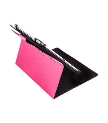 """Funda universal rotatoria 360º silver ht para tablet 9-10.1"""" rosa - Imagen 1"""