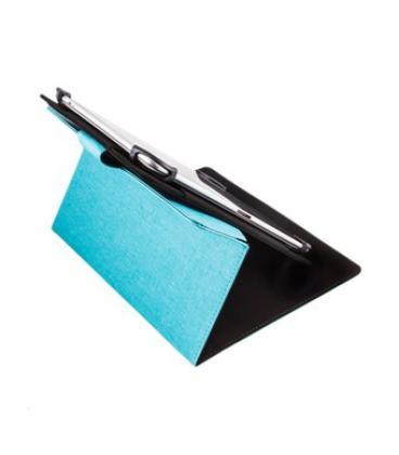 "Funda universal rotatoria 360º silver ht para tablet 9-10.1"" azul - Imagen 1"