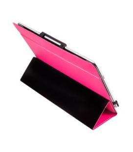 """Funda universal camera pro silver ht para tablet 9.10.1"""" rosa"""