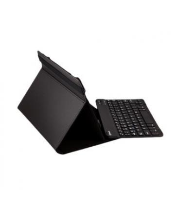 """Funda universal gripcase silver ht para tablet 9-10"""" + teclado bluetooth negro - Imagen 1"""