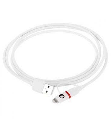 Cable silver ht micro usb combo - lightning macho-macho/ 1.5m/ blamco - Imagen 1