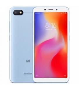 Telefono movil smartphone xiaomi redmi 6a blue / 16gb ram/ 2gb rom/ 13 mpx - 5 mpx/