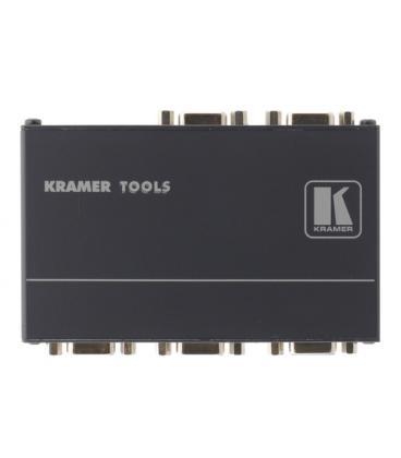 Kramer Electronics VP-400K 400MHz Gris amplificador de línea de video - Imagen 1