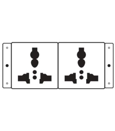 Kramer Electronics TS-2U toma de corriente - Imagen 1