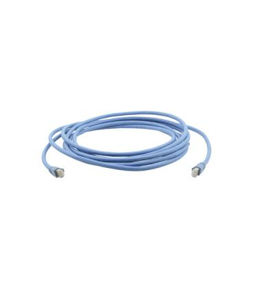 Kramer Electronics C-UNIKAT-164 50m Cat6a U/FTP (STP) Azul cable de red - Imagen 1