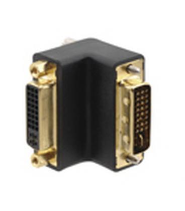 Kramer Electronics DVI-I (F) - DVI-I (M) DVI-I DVI-I Negro adaptador de cable - Imagen 1