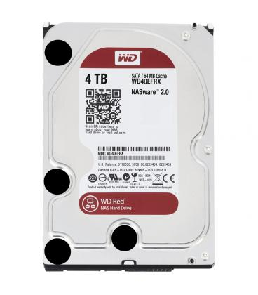 HDD WD NAS 3.5'' 4TB 5400RPM 64MB SATA3 RED - Imagen 1