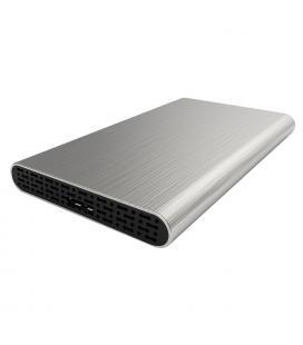 """CAJA HDD COOLBOX SCA2513 2.5"""" SATA USB3.0 PLATA"""