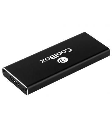 CAJA EXT. SSD COOLBOX MINICHASE M.2 USB3.0 NEGRA - Imagen 1