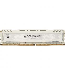 MEMORIA CRUCIAL DIMM DDR4 8GB 2400MHZ (PC4-19200) CL16 SR BALLISTIX SPORT LT WHITE