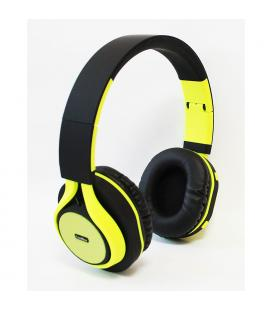 AURICULARES COOLBOX COOLHEAD BLUETOOTH AMARILLO