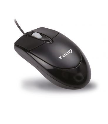 RATON TOOQ TQM-806U OPTICO 800DPI USB NEGRO - Imagen 1