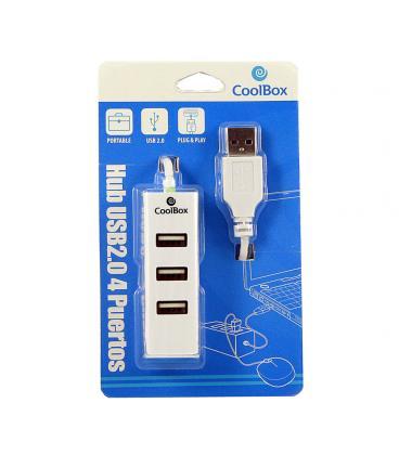 HUB COOLBOX 4 PTOS USB 2.0 - Imagen 1