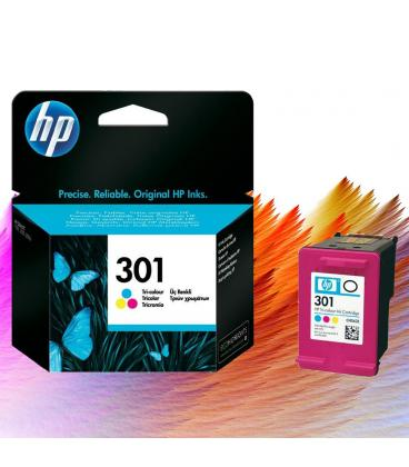 TINTA HP CH562EE Nº 301 COLOR 165 PAG. - Imagen 1