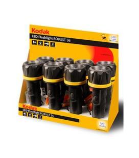 Expositor 8 linternas kodak led flashlight robust 36 - Imagen 1