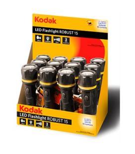 Expositor 12 linternas kodak led flashlight robust 15 - Imagen 1