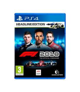 JUEGO SONY PS4 F1 2018 HEADLINE EDITION - Imagen 1