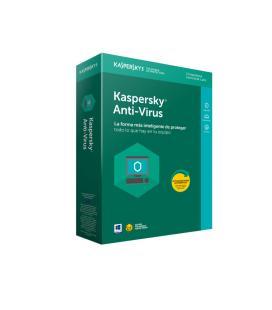 Kaspersky Lab Anti-Virus 2018 Español Full license 3licencia(s) 1año(s)