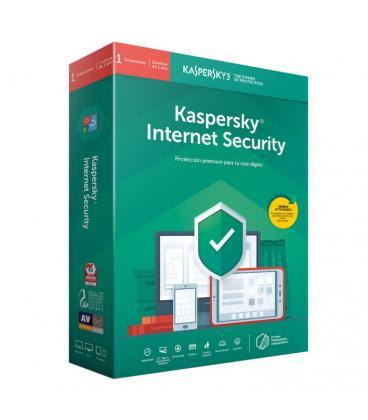 Kaspersky Lab Internet Security 2019 Español Full license 1licencia(s) 1año(s) - Imagen 1