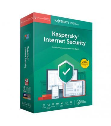 Kaspersky Lab Internet Security 2019 Español Full license 5licencia(s) 1año(s) - Imagen 1