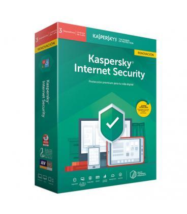 Kaspersky Lab Internet Security 2019 Español Full license 3licencia(s) 1año(s) - Imagen 1