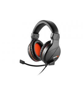 Sharkoon RUSH ER3 Binaural Diadema Negro, Rojo auricular con micrófono